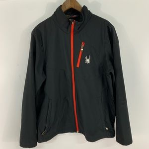 Spyder Full Zip Soft Shell Jacket